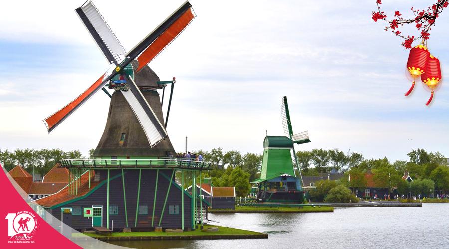 Du lịch tết âm lịch 2019 - Tour Pháp - Lux - Bỉ - Hà Lan - Đức từ Sài Gòn giá tốt