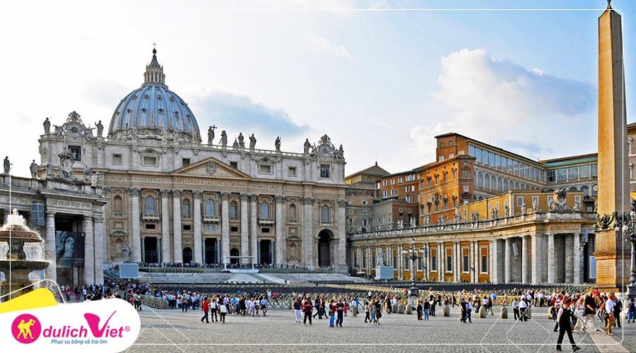 Du lịch Hành Hương - Pháp - Tây Ban Nha - Bồ Đào Nha - Italy từ Sài Gòn 2019