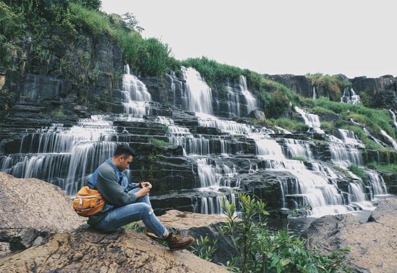 Vẻ đẹp thác Pongour ở Đà Lạt