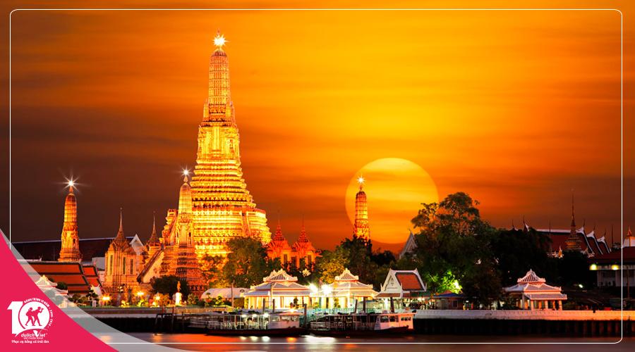 Chương trình du lịch Thái Lan Bangkok – Pattaya mùa Thu từ Sài Gòn giá tốt 2018