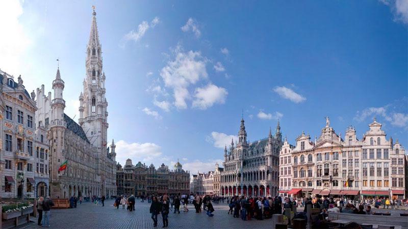 Thành phố Brussels với những công trình kiến trúc Gothic