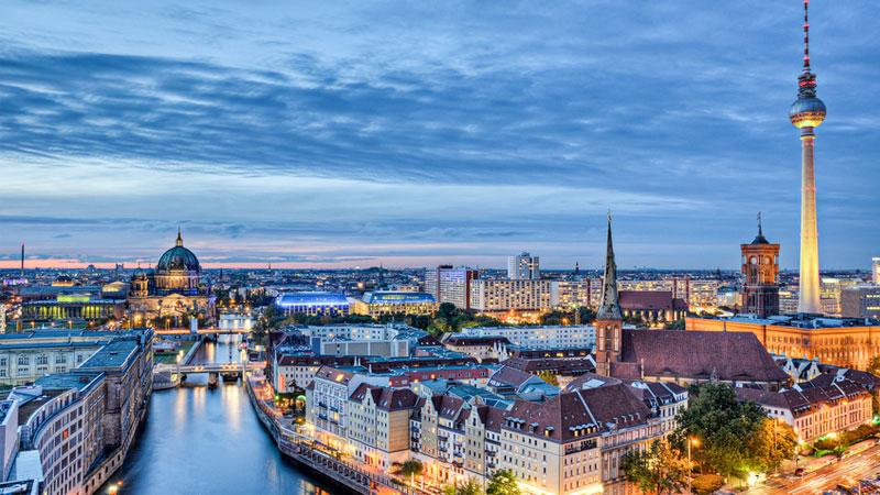 Thủ đô Berlinkhoác lên vẻyên bình trầm mặc