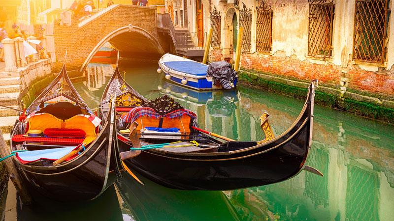 Venice được mệnh danh là thành phố tình yêu của nước Ý