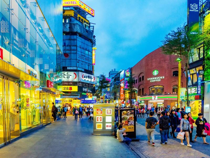 Chợ đêm Ximending - Du lịch Đài Loan