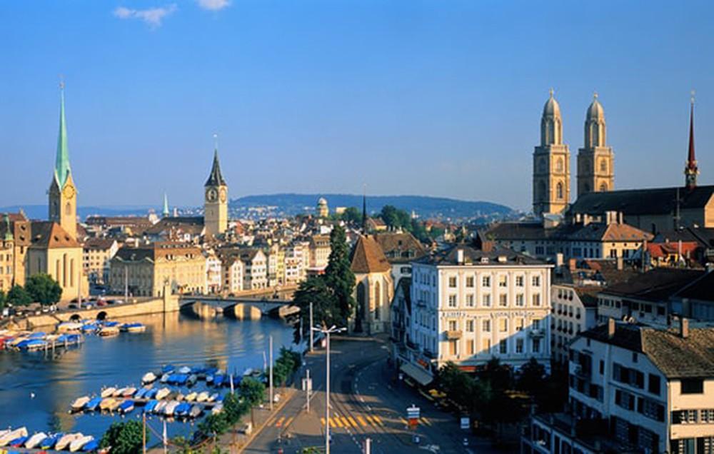 Khám phá vẻ đẹp thành phố Zurich ở Thụy Sĩ