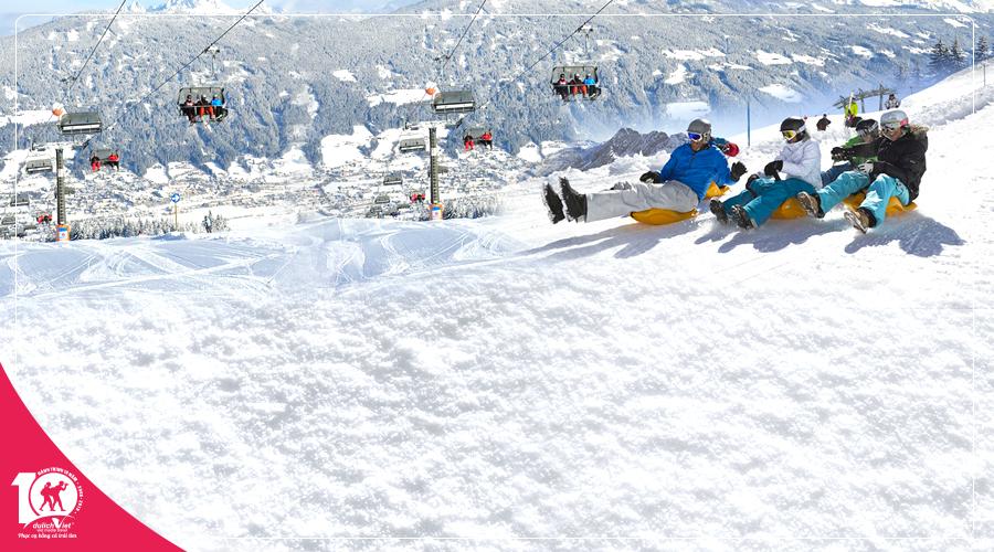 Tour Hàn Quốc mùa Đông trượt tuyết thú vị tại Elysian Ski Resort từ Sài Gòn