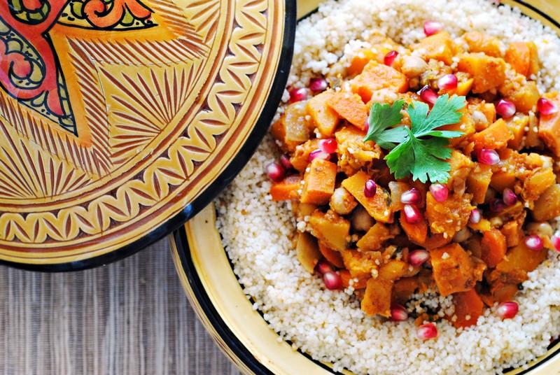 Hình ảnh món ăn truyền thống của Maroc