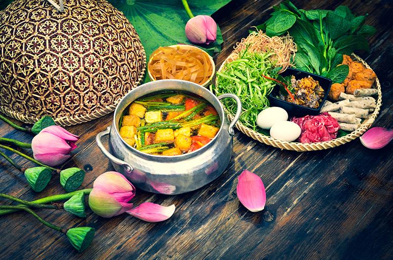 ẩm thực rừng U Minh