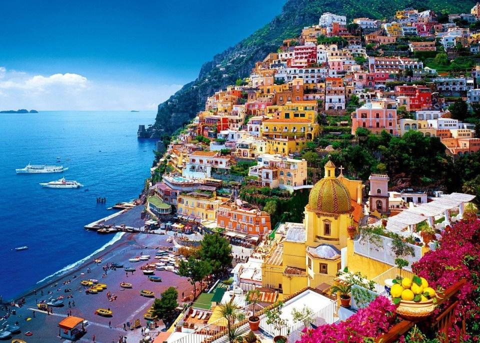 Du lịch Ý - Bờ biển Amalfi