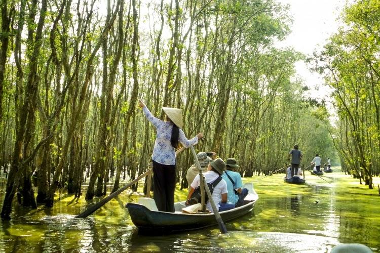 Đi du lịch An Giang mùa nước nổi