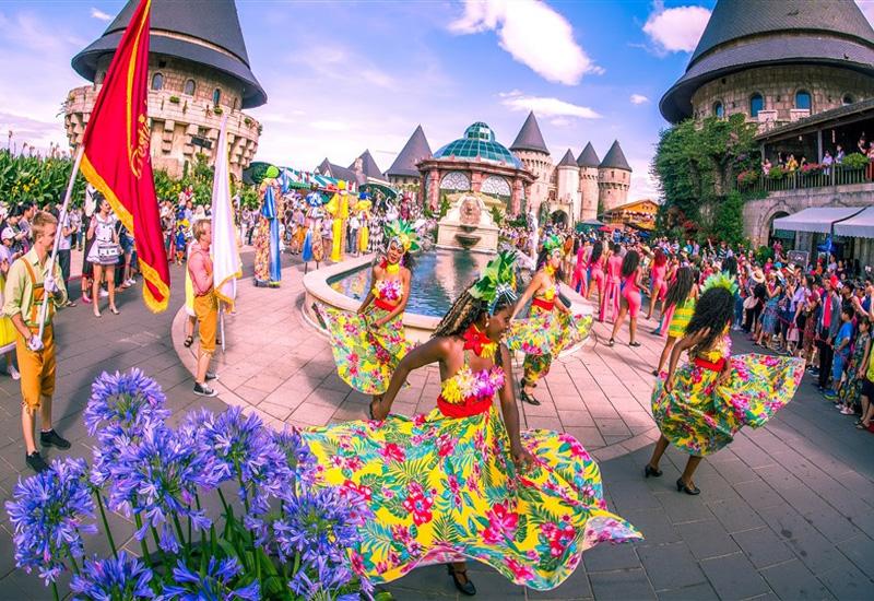Những lễ hội sẽ được thường xuyên diễn ra trong ngày lễ tết dương lịch ở Bà Nà Hills