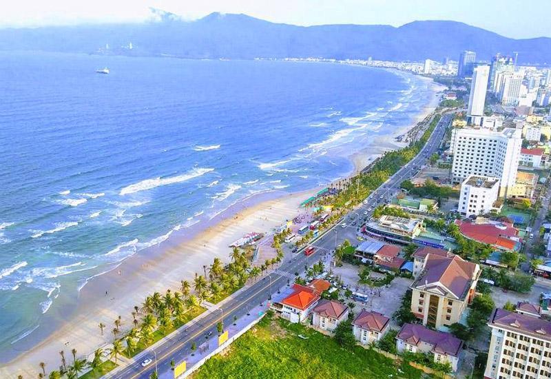 Vẻ đẹp khung cảnh của bãi biển Mỹ Khê - Đà Nẵng