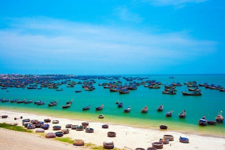 Bã biển Phan Thiết du lịch Miền Trung mùa thu