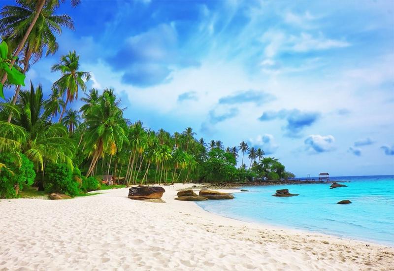Vẻ đẹp bãi Dài Phú Quốc dịp tết dương lịch