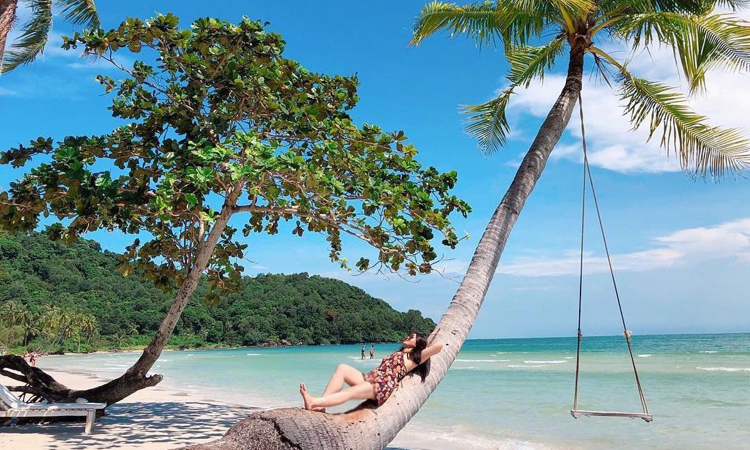 Vẻ đẹp thơ mộng của Bãi Sao trên Đảo Phú Quốc