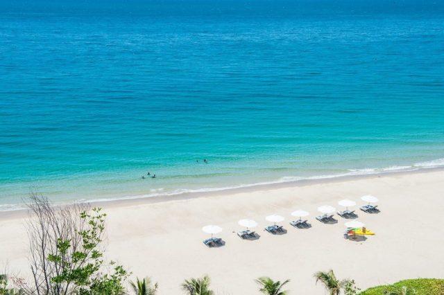 Vẻ đẹp biển Bãi Dài được trang tin du lịch thế giới đánh giá là một trong những bãi biển đẹp nhất thế giới