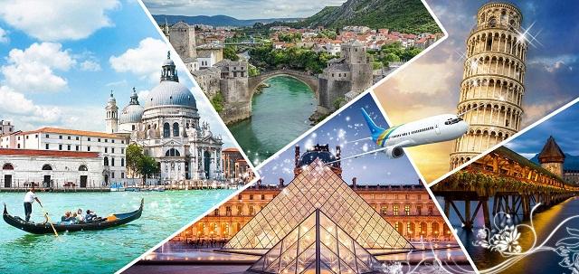 """Bí kíp cho cẩm nang du lịch Châu Âu """"chuẩn nhất"""""""