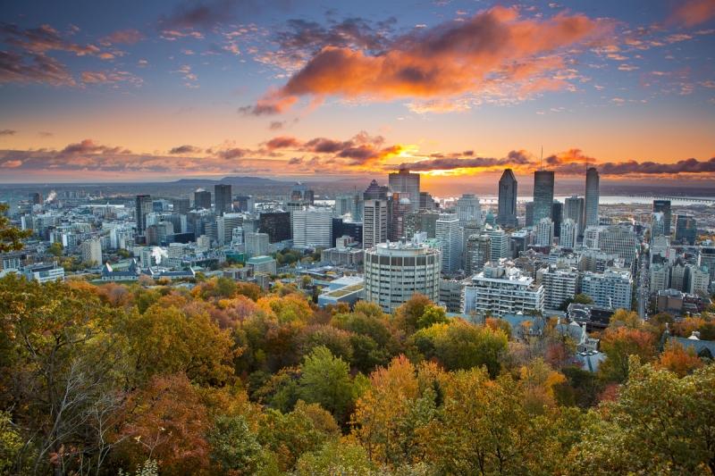 Montréal - Du lịch Canada mùa Thu