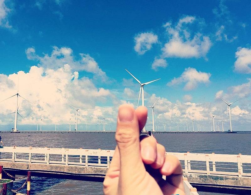 Cánh đồng quạt gió
