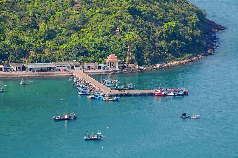 Vẻ đẹp khung cảnh bãi Chệt trên hòn đảo Nam Du