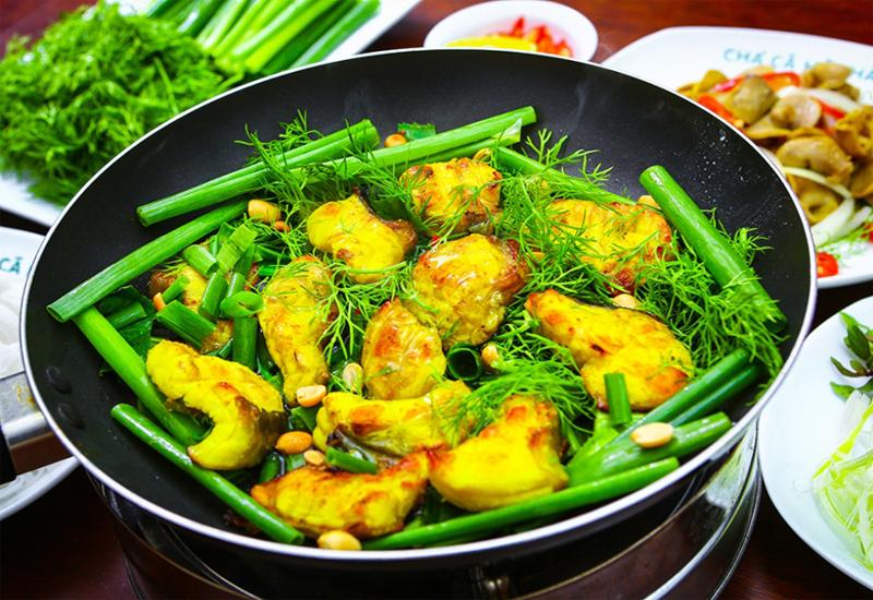 Món chả cá Lã Vọng là một món ăn khá nổi tiếng của mùa thu Hà Nội