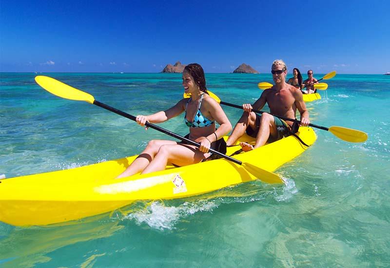 Trải nghiệm cảm giác chèo thuyền Kayak khi đi du lịch Nha Trang