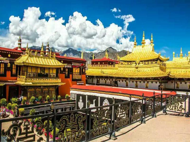 Chùa Đại Chiêu - Tour du lịch Tây Tạng mùa thu