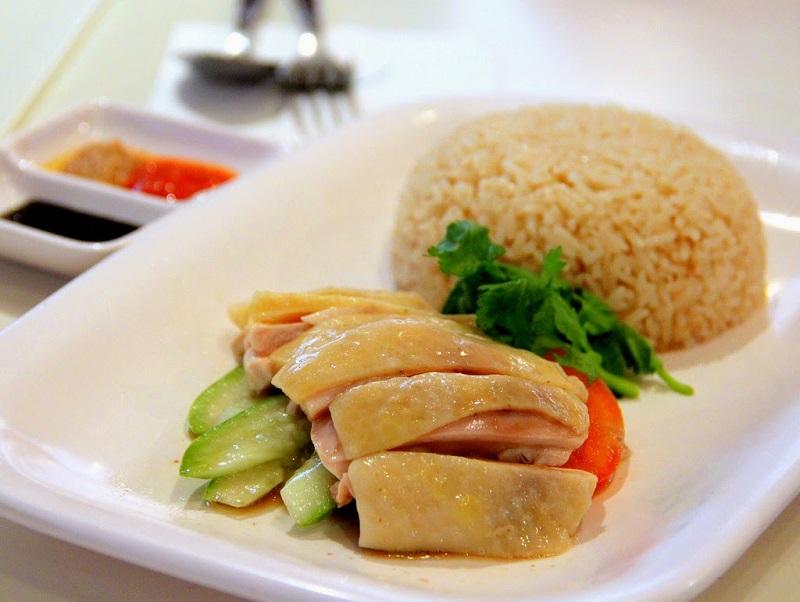 Du lịch Singapore - Thưởng thức món cơm gà Hải Nam