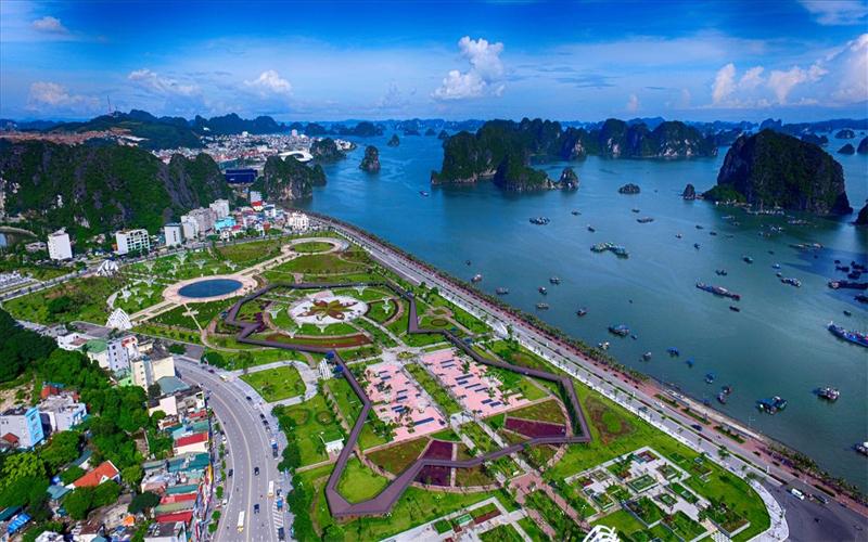 Khu công viên Hạ Long