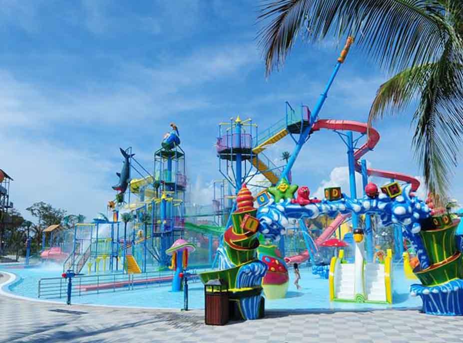Những trò chơi mạo hiểm trong công viên nước Vinpearl Land Phú Quốc
