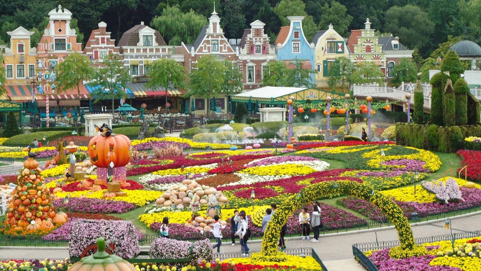 Du Lịch Hàn Quốc -Everland công viên giải trí