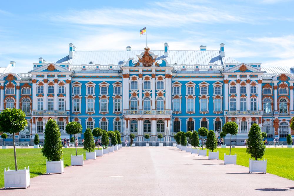 Du lịch Nga - Cung điện Ekaterina