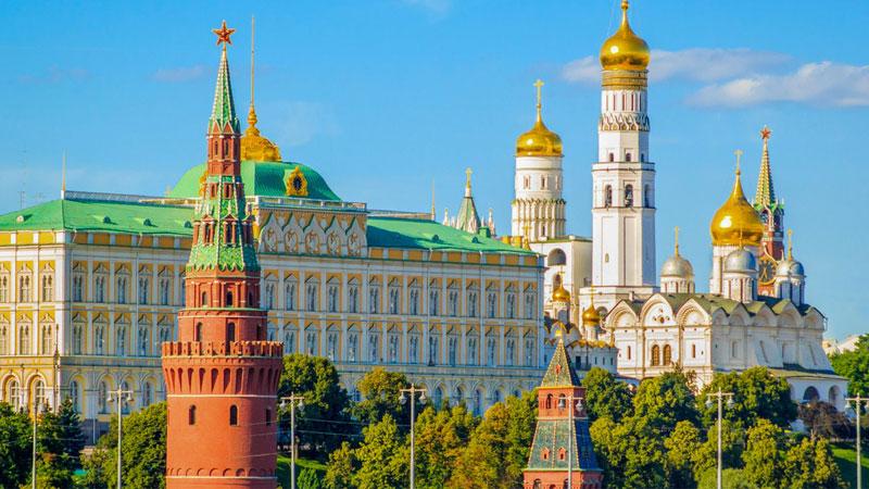 Cung điện Kremlin thơ mộng và hiền hòa