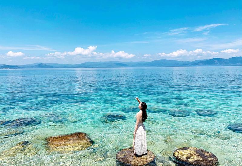 Vi vu biển đảo Quy Nhơn tận hưởng kỳ nghỉ lễ 2/9 tuyệt vời