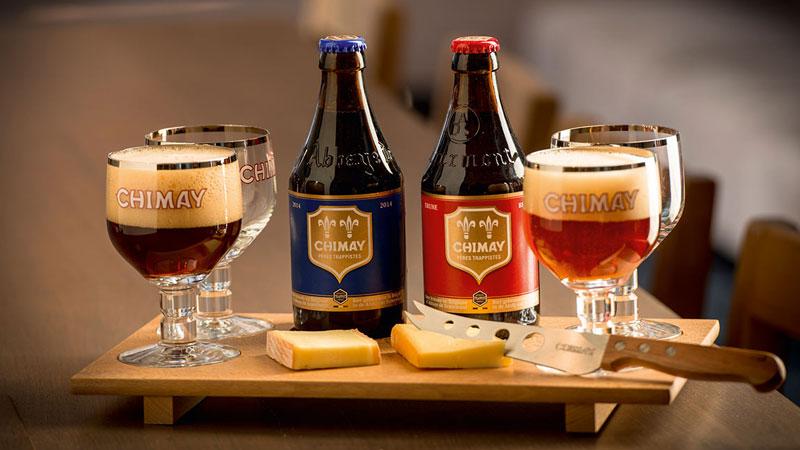 Đếnvới Bỉ bạn sẽ được thưởng thức vô số loại bia khác nhau