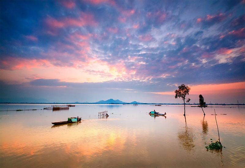 du lịch mùa nước nổi An Giang