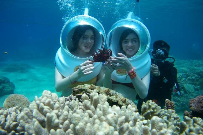 Trải nghiệm cảm giác đi bộ dưới lòng đại dương khi đến du lịch Phú Quốc