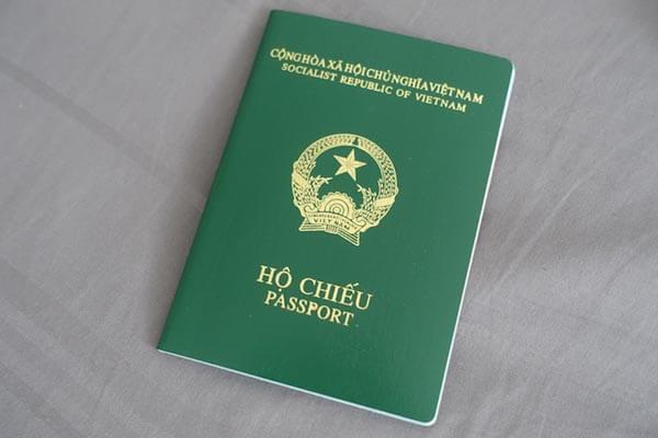 Hộ chiếu là giấy tờ không thể thiếu khi xin visa du lịch Đài Loan