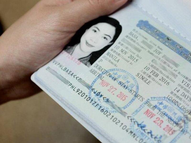 Làm visa để có thể du lịch Đài Loan