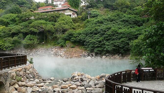 Du lịch Đài loan mùa Đông trải nghiệm suối nước nóng