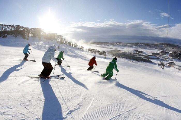 Du lịch Đài Loan mùa Đông tha, gia trượt tuyết