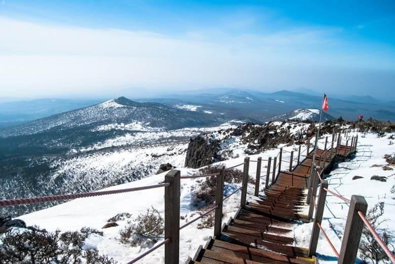 Du lịch Hàn Quốc mùa đông khám phá đảo Jeju