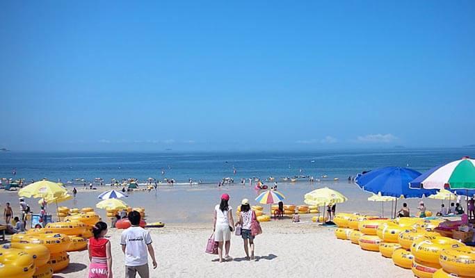 Du lịch Hàn Quốc khám phá Bãi biển Daecheon