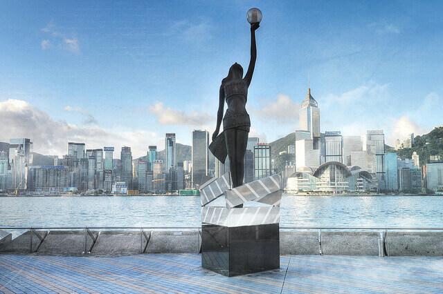 Du lịch Hồng Kông - Đại lộ Ngôi sao Hồng Kông