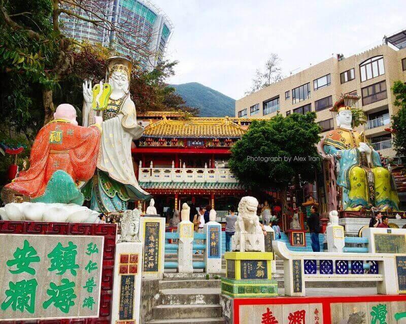 Đền Tin Hau là điểm du lịch Hồng Kông được xây dựng vào những năm 1722