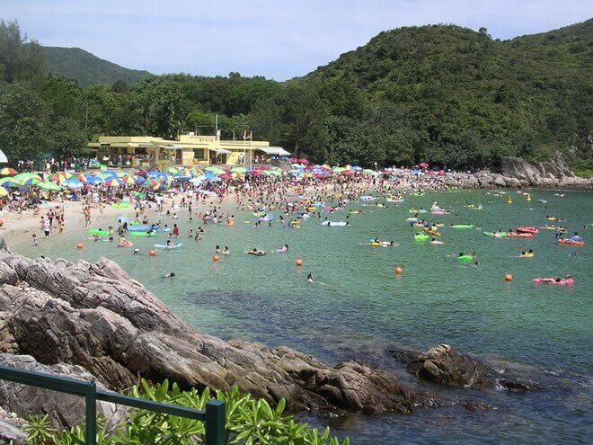 Du lịch Hồng Kông khám phá bãi biển Trio