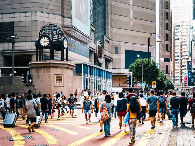 Du lịch Hồng Kông - Khu mua sắm Causeway Bay