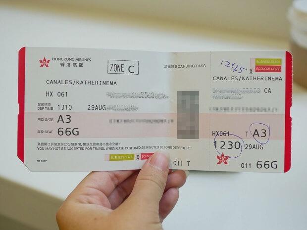 Du lịch Hồng Kông - Chi phí vé máy bay