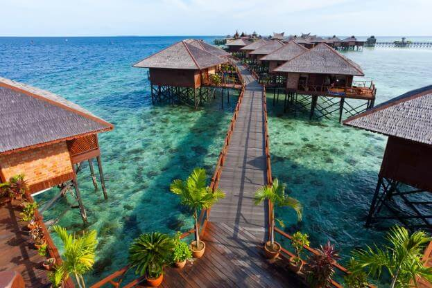 Du lịch Malaysia khám phá đảo Mabul