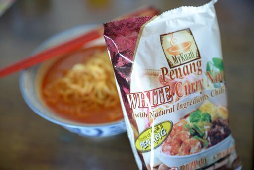 Du lịch Malaysia mua mì ăn liền MyKuali Penang White về làm quà